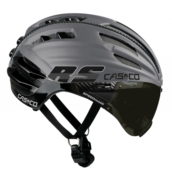 Велошлем Casco SPEEDairo RS silver-black
