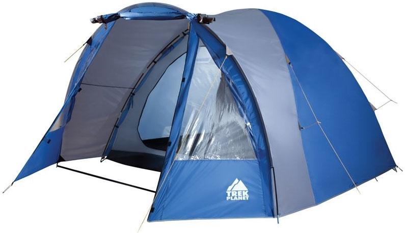 """Четырехместная двухслойная кемпинговая палатка TREK PLANET """"Indiana 4"""""""