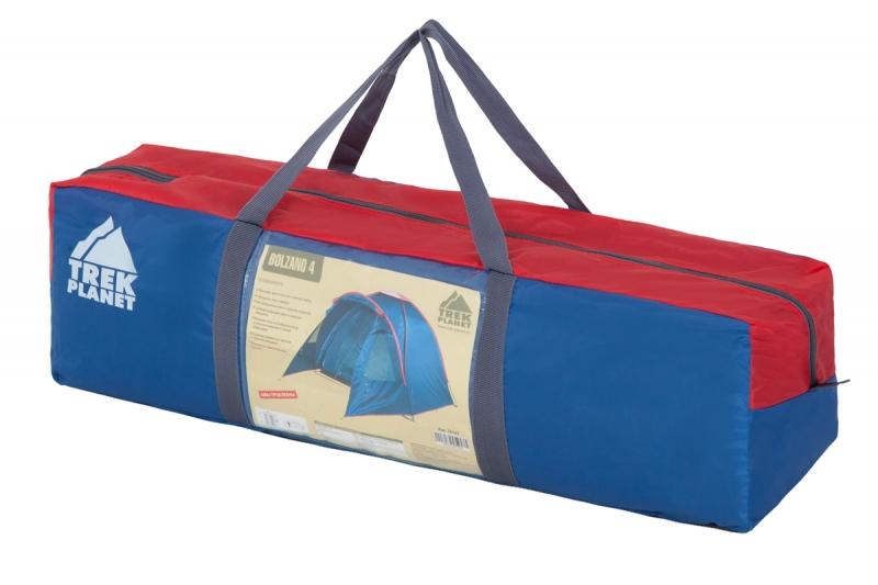 """Четырехместная, высокая – 190 см, палатка """"Bolzano 4"""""""