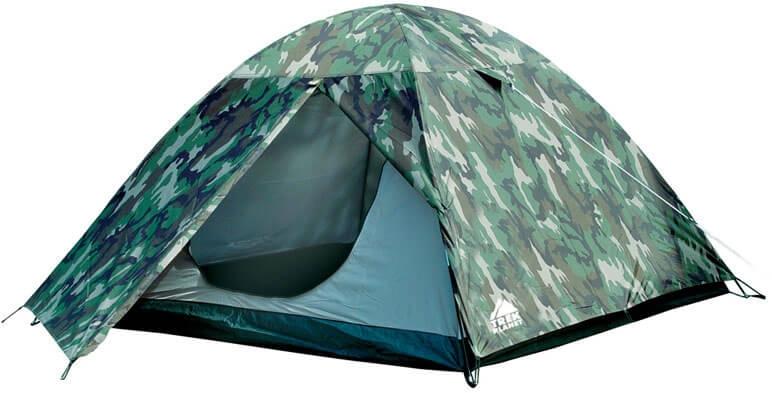 """Двухслойная четырехместная палатка TREK PLANET """"Alaska 4"""""""