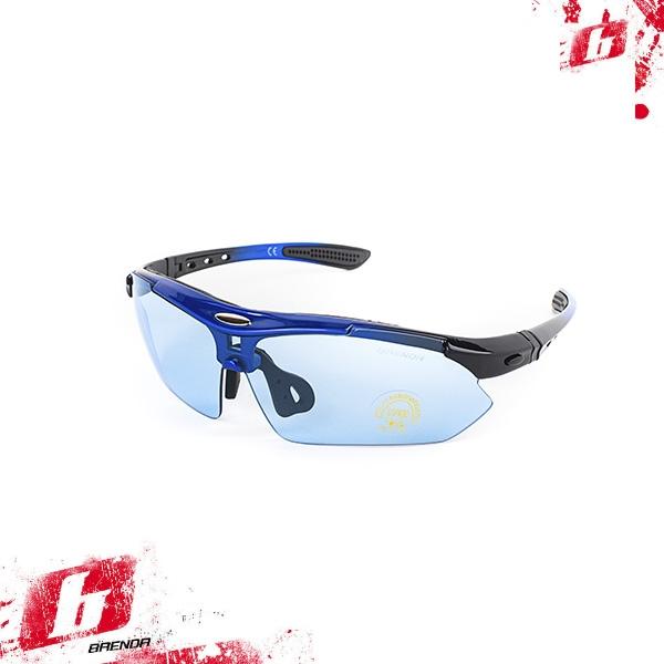 Солнцезащитные очки BRENDA мод. L0089 C2 middle blue