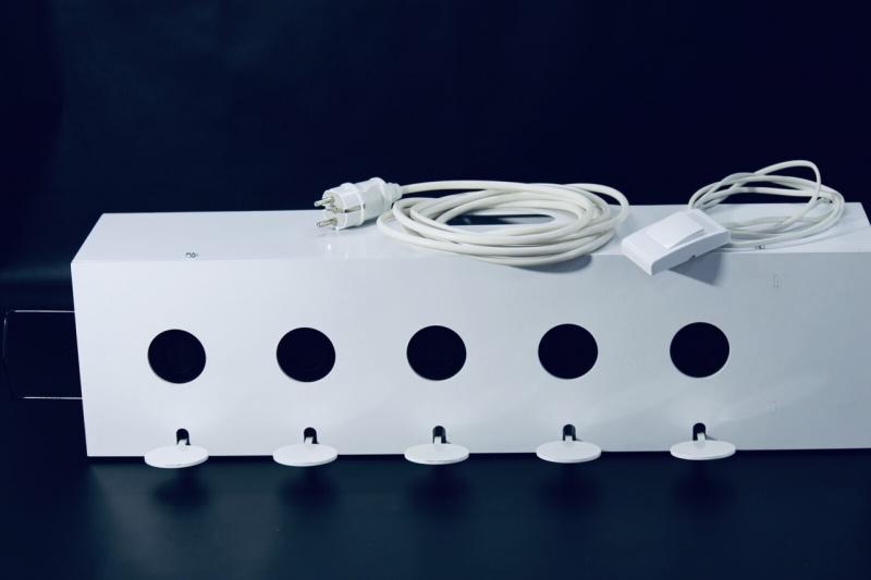 Биатлонная мишенная установка для стрельбы из пневматического оружия 50х30 электрическая