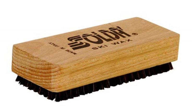 Щётка ручная со смешанной набивкой конский волос/нейлон Solda