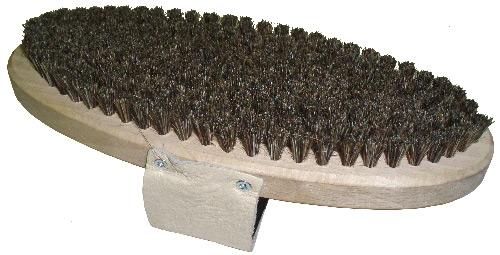 Щетка ручная овальная Solda из конского волоса