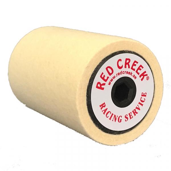 Роторная щетка RED CREEK FELT ROLLER флисовая 100мм