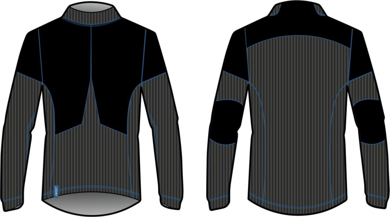 Мужское термобелье кофта KV+ Man JULIER long sleeves shirt pro-wind-tech