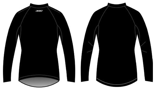 Женское шерстяное термобелье кофта KV+ Woman Wool 67 long sleeves shirt