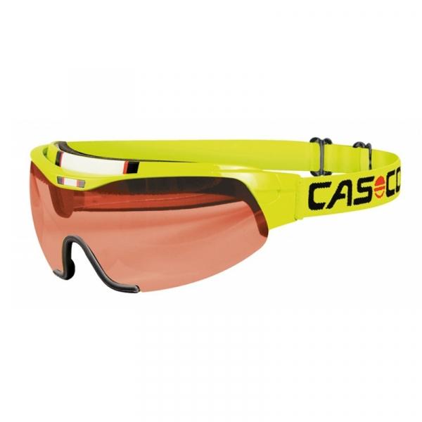 Очки-маска CASCO SPIRIT VAUTRON yellow neon