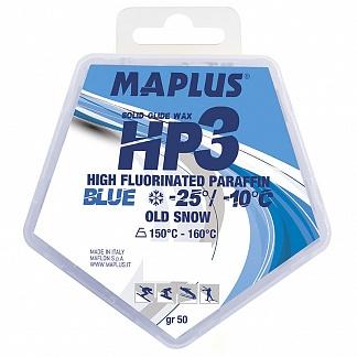 Парафин с высоким содержанием фтора Maplus HP3 Blue Molybdeno Cold additive -10°…-25°C