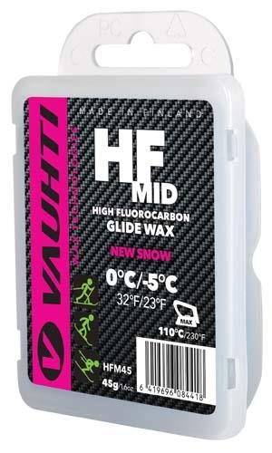 Парафин с высоким содержанием фтора Vauhti HF MID 0°...-5°С