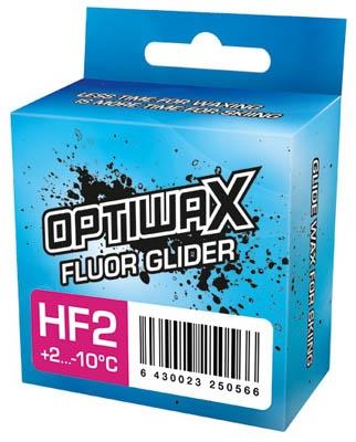 Парафин с высоким содержанием фтора Optiwax HF2 WHITE +2°…-10°C