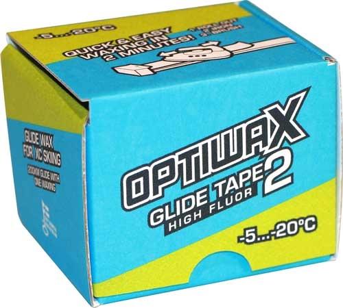Высокофторовая скользящая лента Optiwax HF Glide Tape 2-5°…-20°C