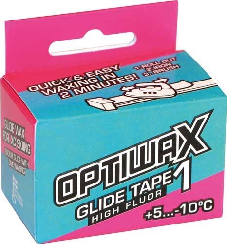 Высокофторовая скользящая лента Optiwax HF Glide Tape 1 +5°…-10°C
