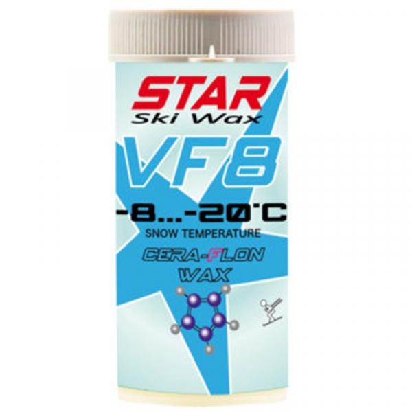 Парафин с ультра высоким содержанием фтора (в виде порошка) STAR CERA-FLON VF8 синий -8…-20°С