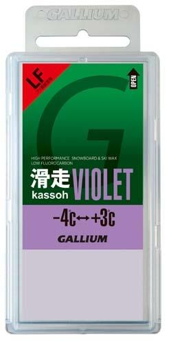 Парафин с содержанием фтора GALLIUM LF Kassoh, фиолетовый +3°…-4°C