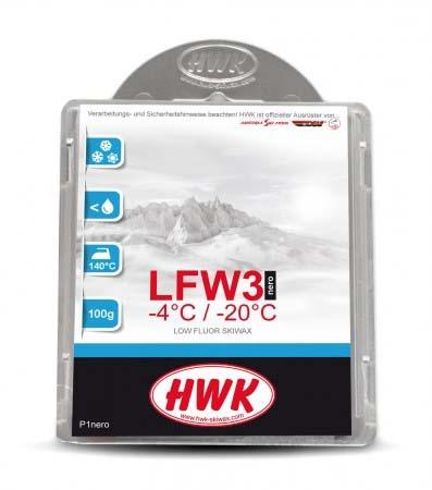 Парафин с содержанием фтора HWK с графитом HWK LFW3 Nero