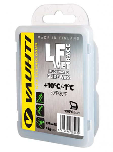 Парафин с содержанием фтора VAUHTI LF RACE WET +10°…-1°C