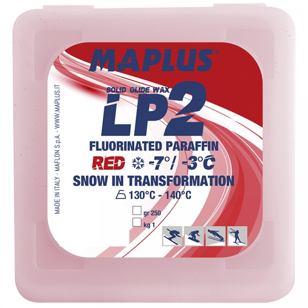 Парафин с содержанием фтора MAPLUS LP2 Red -3°…-7°C