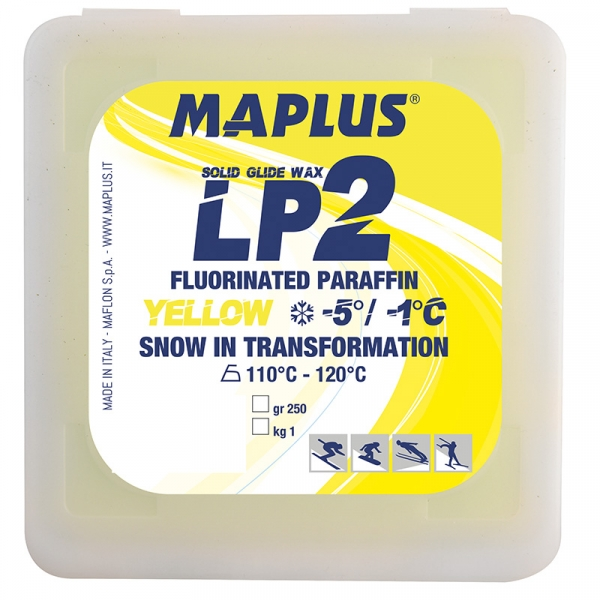 Парафин с содержанием фтора MAPLUS LP2 Yellow -1°…-5°C