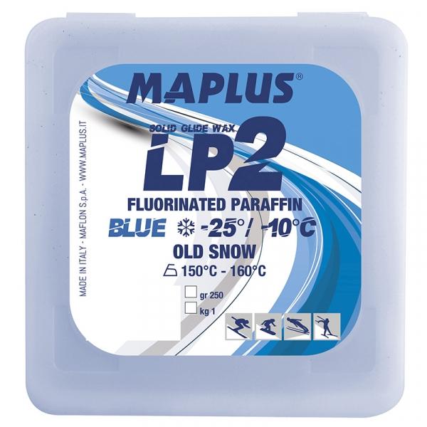 Парафин с содержанием фтора MAPLUS LP2 Blue -10°...-20°С