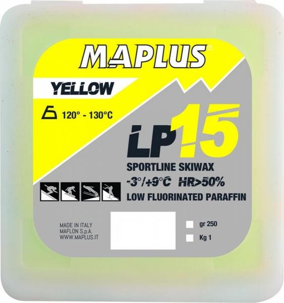 Парафин с содержанием фтора MAPLUS LP15 Yellow - 3…+9 °С
