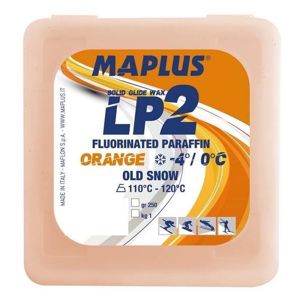 Парафин с содержанием фтора MAPLUS LP2 Orange 0°…-4°C
