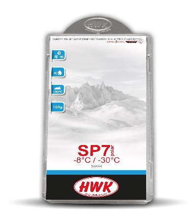 Парафин без содержания фтора HWK Sp7 Polar -8°…-30°C