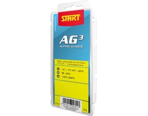 Парафин без содержания фтора START AG3 YELLOW желтый +5°…-1°C
