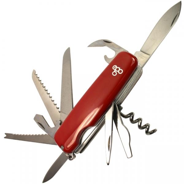 Нож складной Ego Tools A01.12.1, красный
