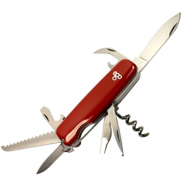 Нож складной Ego Tools A01.9, красный