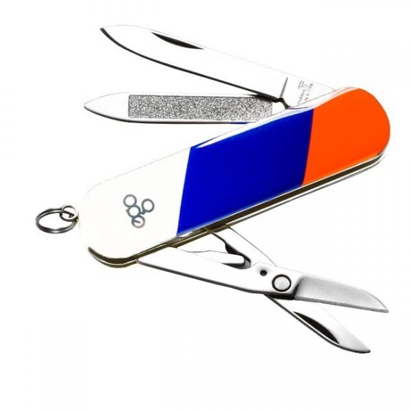 Нож складной - брелок Ego Tools A03, триколор