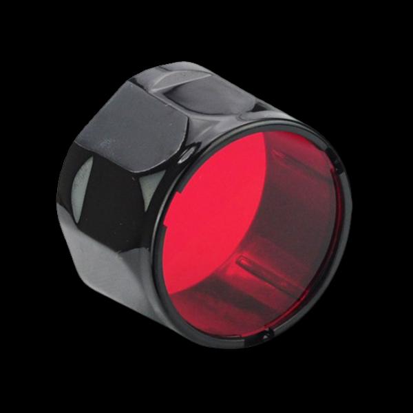 Фильтр для тактических фонарей Fenix TK красный