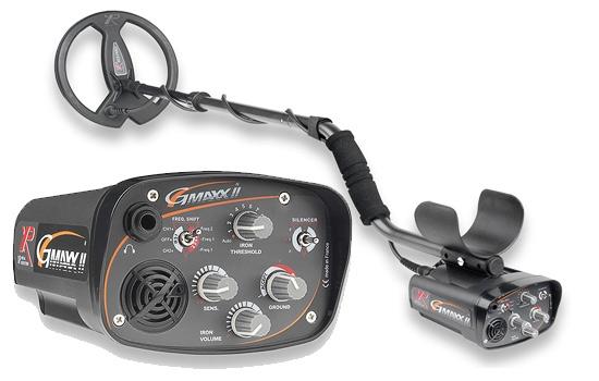 Металлоискатель XP Gmaxx 2 в комплекте с катушкой 27см