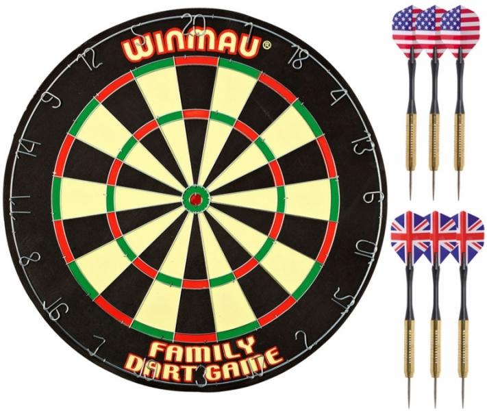 Комплект для игры в Дартс Winmau Dart Game