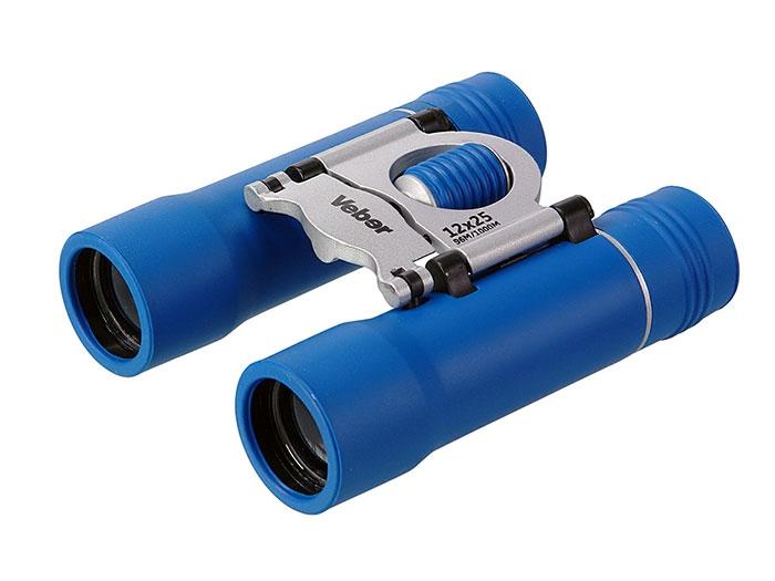 Бинокль Veber Sport New БН 12x25 синий/серебристый, арт. 11009