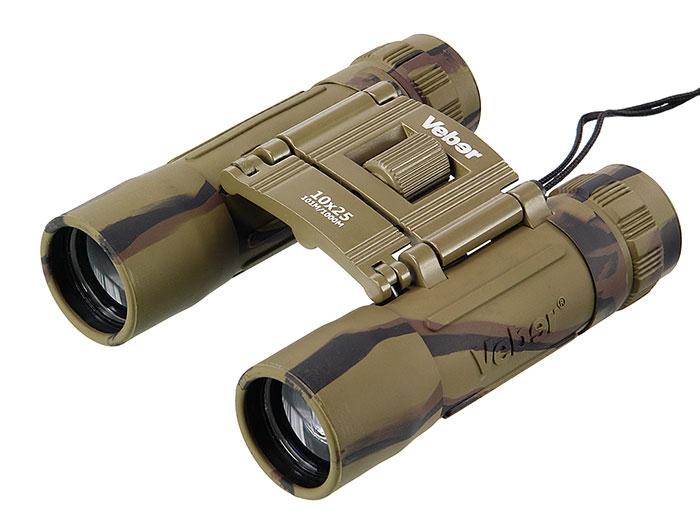 Бинокль Veber Sport БН 10x25 камуфлированный, арт. 11006