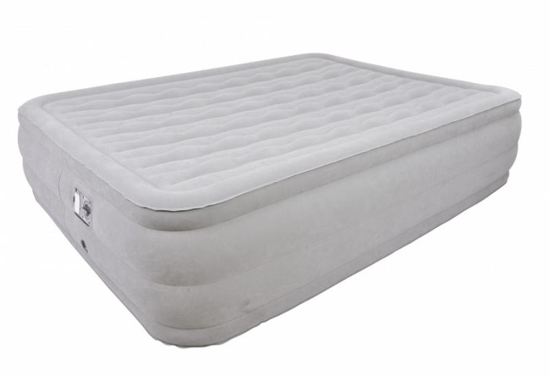 Кровать со встроенным эл. насосом JILONG RELAX DELUXE HIGH RISING AIR BED QUEEN