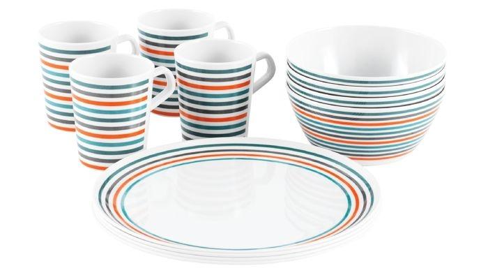 Набор посуды для пикника EASY CAMP MELAMINE SET