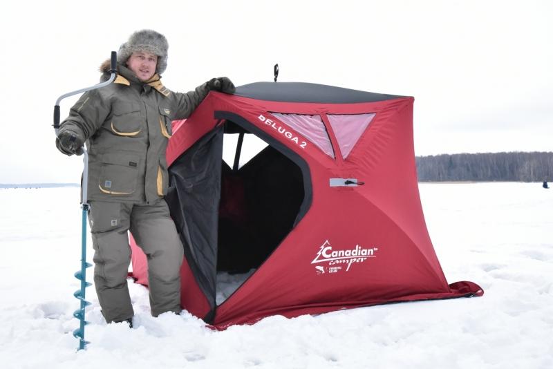 Палатка рыбака зимняя Canadian Camper BELUGA 3