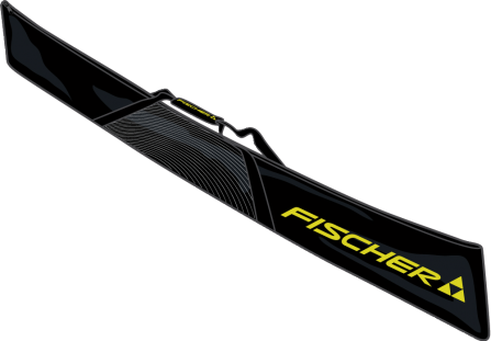 Чехол для горных лыж Fischer Eco Alpine на 1 парy 190 (черн.)