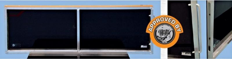 Флорбольные борта Reactor Premium 40x20
