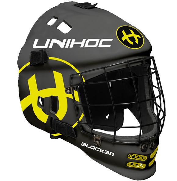 Шлем вратарский Unihoc Blocker
