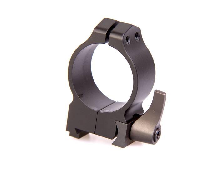 крепления Warne Maxima 30мм QD CZ, высокое, матовое, кольца 15BLM