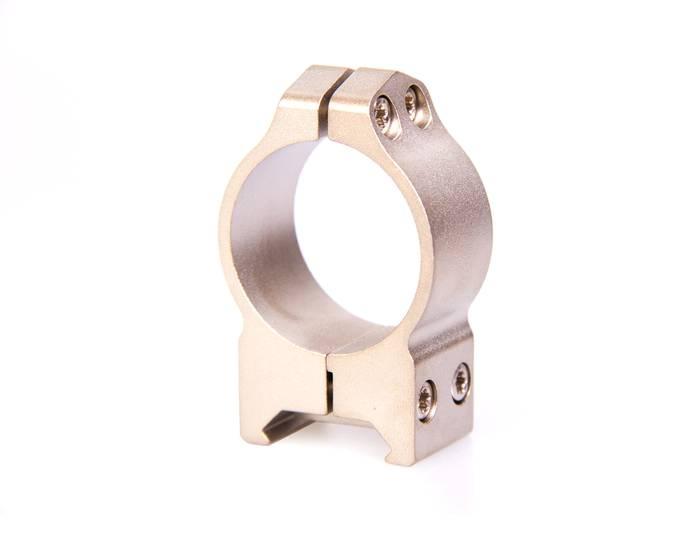 крепления Warne Maxima 30мм PA, среднее, серебро, кольца 214S