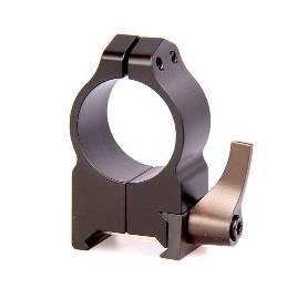 крепления Warne Maxima 1 QD, высокое, матовое, кольца 202LМ