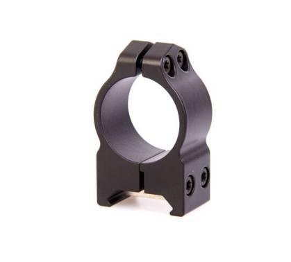 крепления Warne Maxima 1 PA, среднее, матовое, кольца 201М