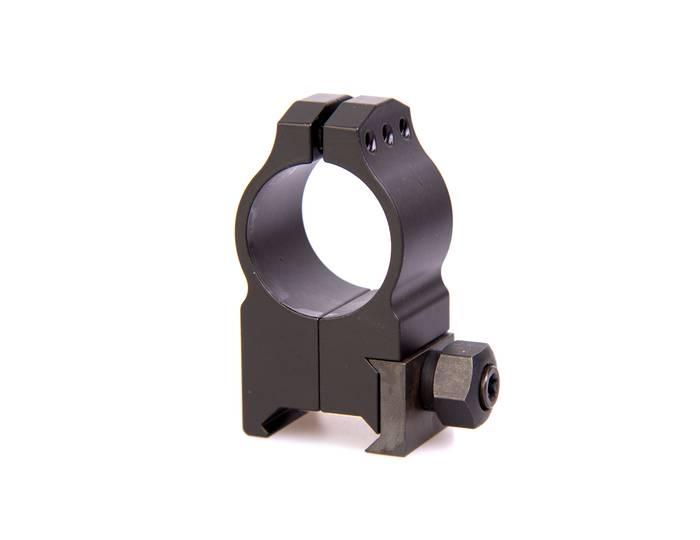 крепления Warne Maxima 1 PA, Tikka среднее, матовое, кольца 1TM