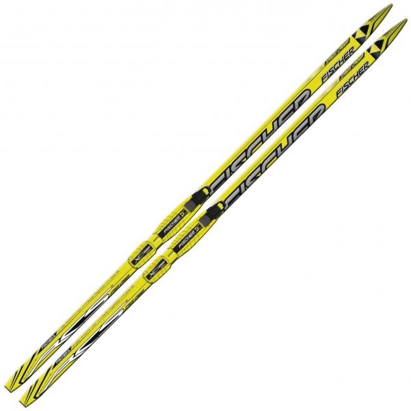 Лыжи детские FISCHER SPRINT CROWN yellow JUNIOR 13/14