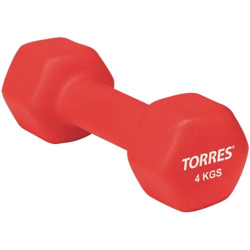 Гантели TORRES 4 кг