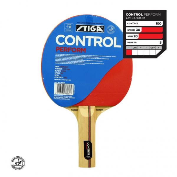 Ракетка для настольного тенниса Stiga Control Perform, арт. 1886-37